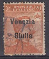 Italy Venezia Giulia 1918 Sassone#23 Used - Venezia Giulia