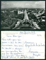 CONGO BELGE [OF #14294] - LEOPOLDVILLE - LE BOULEVARD ALBERT IER - Kinshasa - Léopoldville