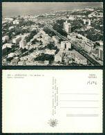 CONGO BELGE [OF #14296] - LEOPOLDVILLE - VUE AERIENNE DU CENTRE COMMERCIAL - Kinshasa - Léopoldville