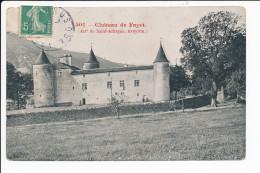 Carte Du Château De Fayet ( Environs De Saint Affrique )    ( Recto Verso ) - Saint Affrique