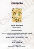 2010 Investphila Auction: Europe & Overseas, Latin America, Catalogue + Prices Realised - Catalogues De Maisons De Vente