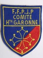 Ecusson Tissu Feutrine Brodée - Comité De HAUTE-GARONNE - FFPJP - PETANQUE Et Jeu Provençal - Ecussons Tissu