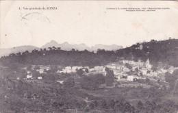 CPA 20 CORSE @ ZONZA  En  1914 @ Vue Générale N° 1 - D.P Luciani (Calvi) Jacquemin Giudicelli Négociant - France