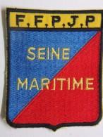 Ecusson Tissu Brodé - SEINE MARITIME - FFPJP - PETANQUE Et Jeu Provençal - Ecussons Tissu