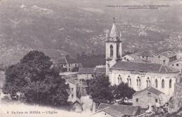 CPA 20 CORSE @ ZONZA En 1914 @ Un Coin Près De L'Eglise N° 3 - D.P Luciani (Calvi) Jacquemin Giudicelli Négociant - France