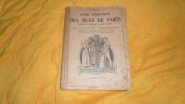 GUIDE INDICATEUR COMPLET DES RUES DE PARIS DE 1900. / HACHETTE ET CIE. / PLAN SCHEMA / OMNIBUS TRAMWAYS.. 112 PAGES. - Other