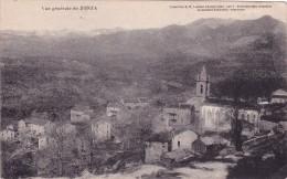 CPA 20 CORSE @ ZONZA @ Vue Générale En 1916 - D.P Luciani (Calvi) Jacquemin Giudicelli Négociant - France