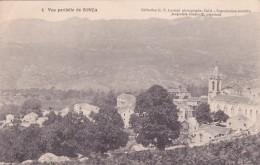 CPA 20 CORSE @ ZONZA @ Vue Partielle En 1923 - N°4 D.P Luciani (Calvi) Jacquemin Giudicelli Négociant - France
