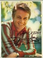 Claude Francois - Signé Autographe Grande CP Philips - Sänger Und Musikanten