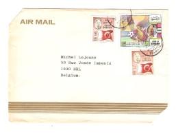 Bahrein Air Mail Cover Cut 1994 From Manama To Belgium ToPR3010 - Bahreïn (1965-...)