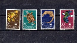 LIECHTENSTEIN 1976 N° 587 / 90 OBLITERE - Liechtenstein
