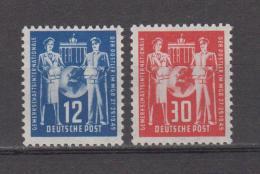 DDR  1949 Mich.243/44 ** Geprüft Schönherr BPP - [6] République Démocratique