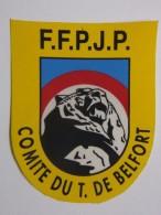 Autocollant - Stickers - BELFORT - PETANQUE - Comité Du Territoire De Belfort - FFPJP - Autocollants