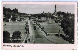 10078  CPA BAD TÖLZ  : Isarbrucke - Bad Toelz