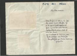 Image De Benjamin RABIER Sur Lettre De La Fête Des Mères 1945 - Vieux Papiers