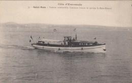 SAINT MALO (35)  VEDETTE AUTOMOBILE BRETONNE FAISANT LE SERVICE ST MALO DINARD - Saint Malo