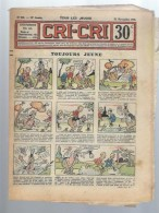 Cri-Cri N°896 Toujours Jeune - Robert D'Oléron - Capture Difficile - Les Mésaventures De Laurel Et Hardy De 1935 - Magazines Et Périodiques