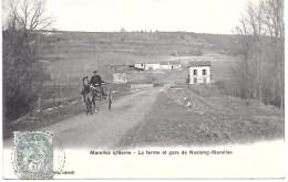 MAROLLES SUR SEINE - La Ferme Et Gare De Noslong-Marolles - France