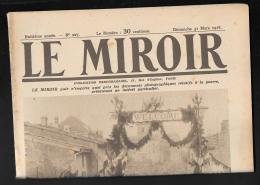 Le Miroir N° 227  -  31/03/1918  -  La Bienvenue à Un Bataillon Américain Montant Aux Tranchées   - Modc - War 1914-18