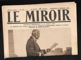 Le Miroir N°148 - 24/09/1916 - Mr Venizelos Lit Le Decret Remis Au Roi Par Une Commission Du Peuple  - Modc13 - War 1914-18
