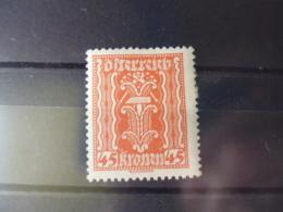 AUTRICHE TIMBRE  OU SERIE  YVERT N° 266* - 1918-1945 1. Republik
