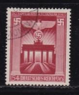 DEUTSCHES REICH, 1943, Cancelled Stamp(s), 10th Year Hitler In Power,  MI 829, #16168 , - Germany