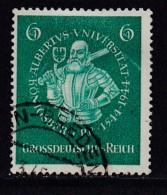 DEUTSCHES REICH, 1944, Cancelled Stamp(s), Albertus University,  MI 896, #16200 , - Germany