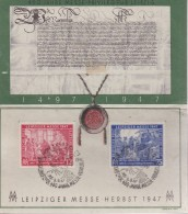 GERMANY, 1947, Cancelled Stamp(s), Special Issue Of Leipziger Messe,  MI 965-966, #16230 - Soviet Zone