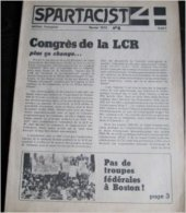 Spartacist 4 N° 1 : 1978, Édition Anglaise. The Rebirth Of British Trotskyism - Revues & Journaux