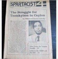 Spartacist N° 22 : (English Edition - 1973) The Struggle For Trotskyism In Ceylon By Samarakkody - Revues & Journaux