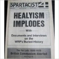Spartacist N° 36/37 : (English Edition 1985) Healyism Impodes With Documents And Interviews On The WRP's Buried History - Revues & Journaux