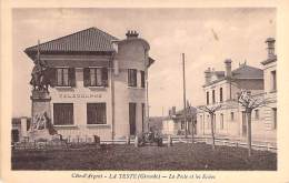 33 - LA TESTE : La Poste Et Les Ecoles - CPA CPSM PF 1939 - Gironde ( PTT ) - Frankreich