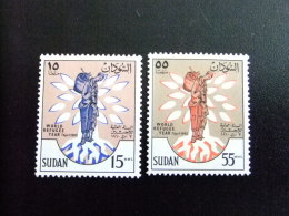 SOUDAN RÉPUBLIQUE SUDAN 1960 AÑO MUNDIAL Del REFUGIADO Yvert Nº 125 / 126 ** MNH - Sudan (1954-...)