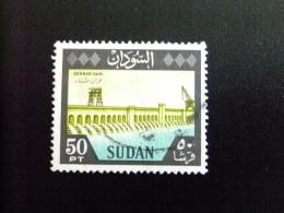 SOUDAN RÉPUBLIQUE SUDAN 1962 DIQUE De SENNAR Yvert Nº 156 º FU - Sudan (1954-...)