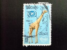 SOUDAN RÉPUBLIQUE SUDAN 1967 ANNÉE INTER. Du TOURISME Yvert Nº 195 º FU - Sudan (1954-...)