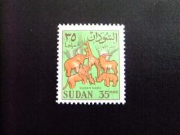 SOUDAN RÉPUBLIQUE SUDAN 1962 ANIMAUX Yvert Nº 149 A º FU - Sudan (1954-...)