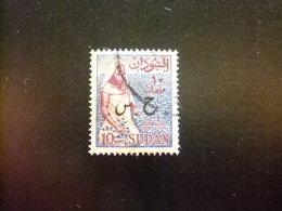 SOUDAN RÉPUBLIQUE SUDAN 1962 TIMBRES De SERVICE Yvert Nº 102 º FU - Sudan (1954-...)