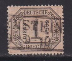NORDDEUTSCHER POSTBEZIRK, 1870 Cancelled Stamp(s) Dienstmarke D4, # 16033 , 1 Value Only - North German Conf.