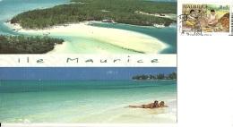 MAURITIUS  MAURICE  Ile Aux Cerfs  Mont Choisy  Nice Stamp - Mauritius