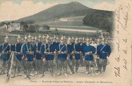 67 // DONON    Armée Allemande En Maneouvres / MILITARIA / CASQUES A POINTE - France