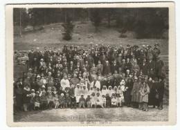 Vallée De Joux Le Pont ? Souvenir De Confirmation 8 Mai 1932 Photo 12 X 17 - Lieux