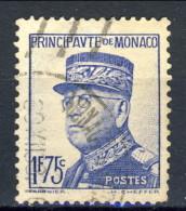 Monaco 1937 - 39 N. 159 C. 55 E N. 165 F. 1,75 Oltremare Usati Catalogo € 12,80 - Monaco