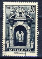 Monaco 1951 N. 370 F. 30 Blu-nero Usato Catalogo € 5 - Used Stamps