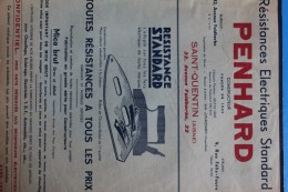 PENHARD          RESISTANCES  ELECTRIQUES         7 PHOTOS - Advertising