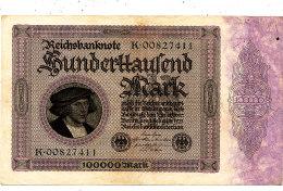 ALLEMAGNE 1 00000 MARK 1923. - [ 3] 1918-1933 : Weimar Republic