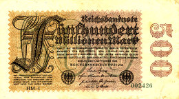 ALLEMAGNE MILLIONEN  MARK 1923. - 2 Millionen Mark