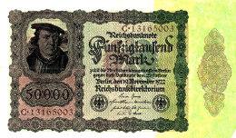 ALLEMAGNE  50000 MARK 1922. - [ 3] 1918-1933 : Weimar Republic