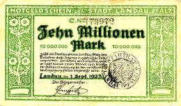ALLEMAGNE  10000000 MARK 1923. - [ 3] 1918-1933 : République De Weimar