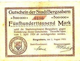ALLEMAGNE   500000  MARK 1924. - Allemagne