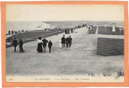 TREPORT-TERRASSE  (cpa 76)   Les Terrasses  - - Le Treport